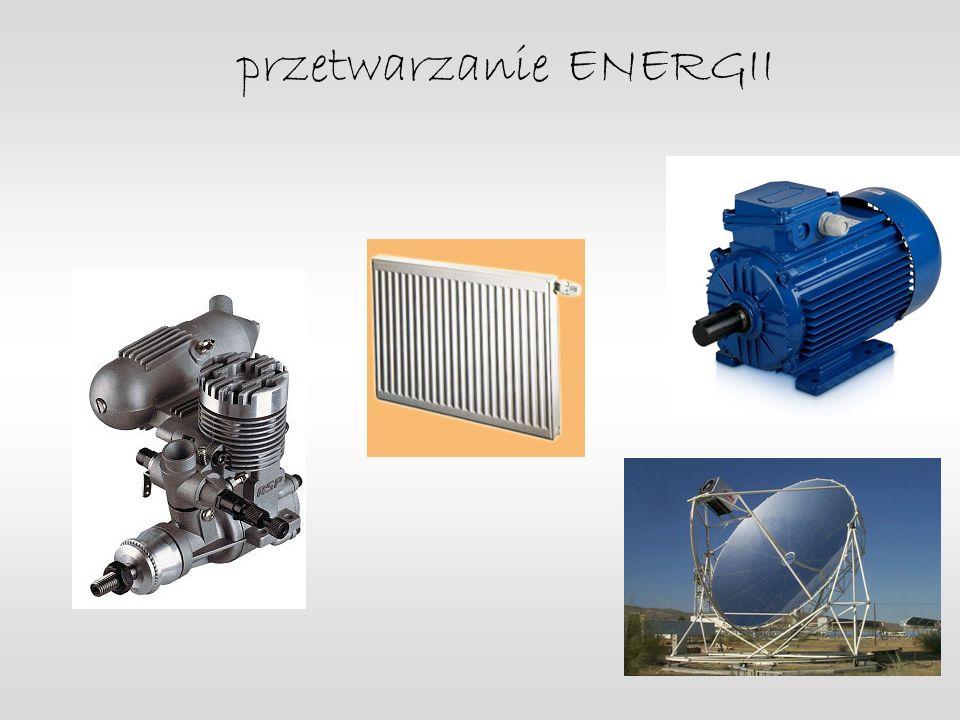 przetwarzanie ENERGII