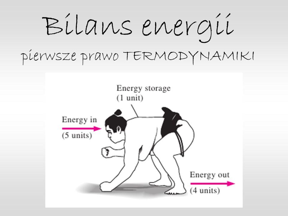 Bilans energii pierwsze prawo TERMODYNAMIKI
