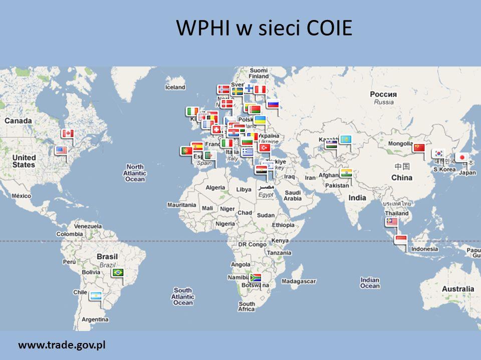WPHI w sieci COIE www.trade.gov.pl