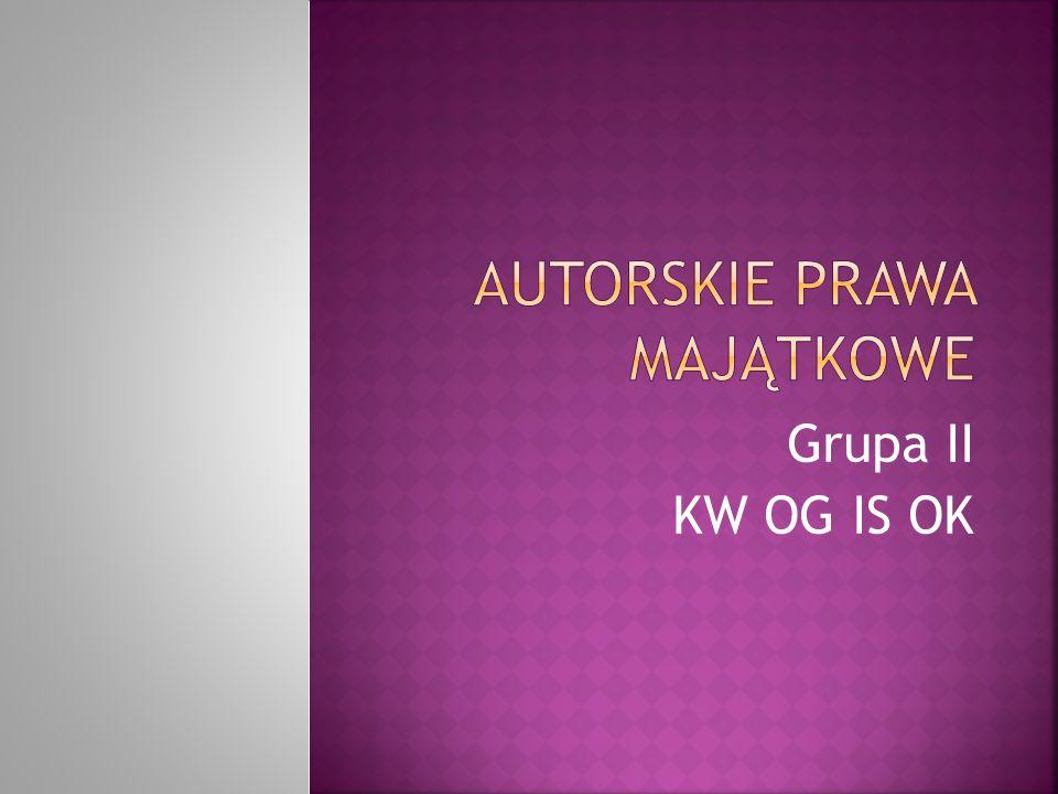 Grupa II KW OG IS OK Kwog is ok ;)