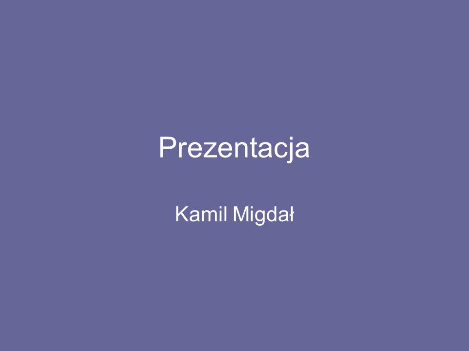 Życiorys Nazywam się Migdał Kamil, mam 20 lat.Urodziłem się 27 Lutego 1994 roku w Brzesku.
