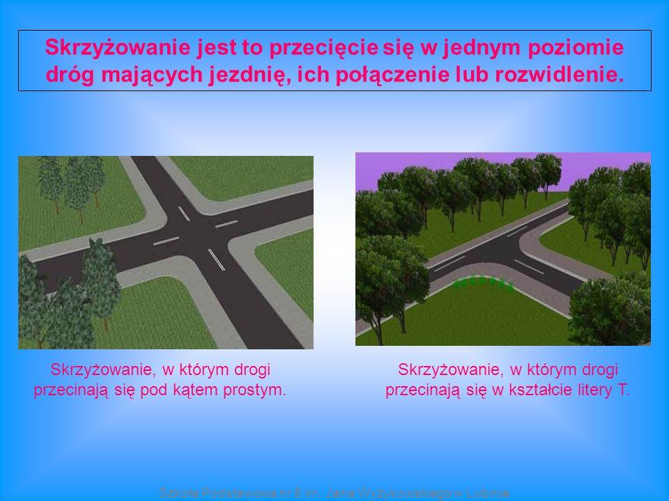 Skrzyżowanie jest to przecięcie się w jednym poziomie dróg mających jezdnię, ich połączenie lub rozwidlenie. Skrzyżowanie, w którym drogi przecinają s