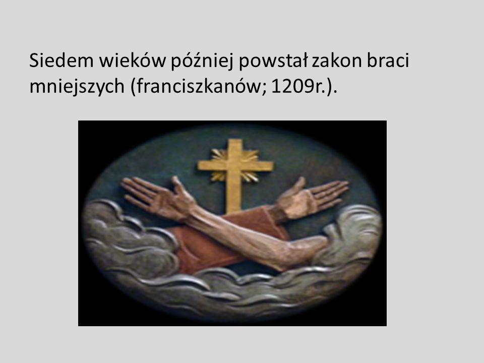 Pierwsze zakony w Polsce Pierwsze zakony na ziemiach polskich pojawiły się w średniowieczu. Pierwszy powstał zakon benedyktynów, został założony przez