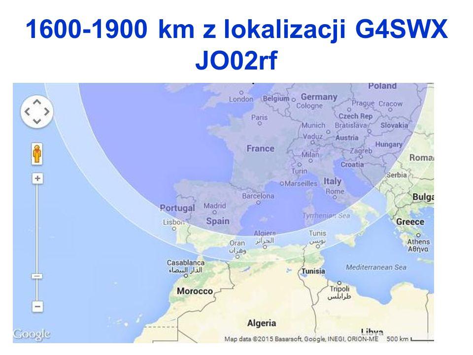 1600-1900 km z lokalizacji G4SWX JO02rf
