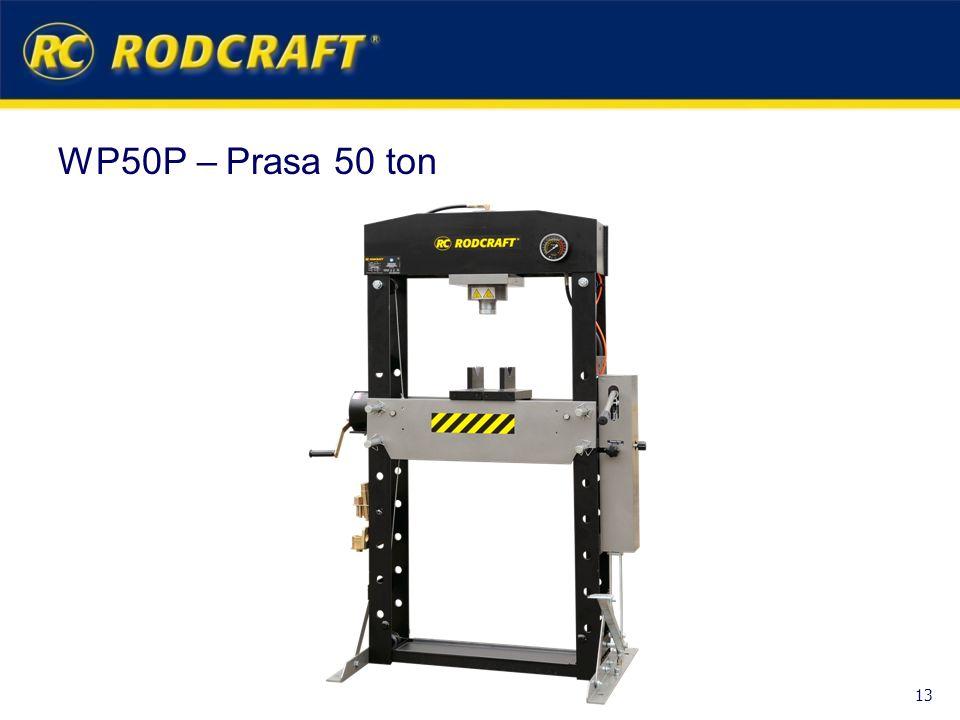 WP50P – Prasa 50 ton 13