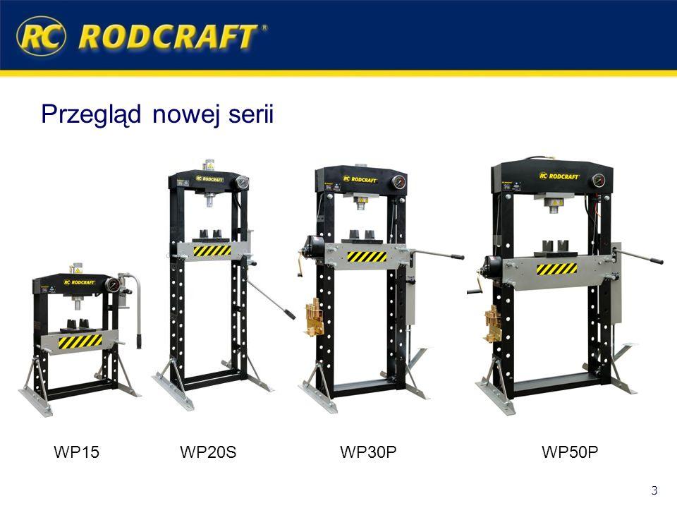Przegląd nowej serii WP15 3 WP20SWP30PWP50P