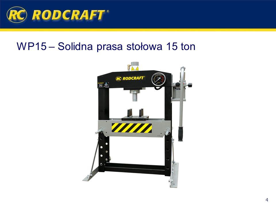 WP15 – Solidna prasa stołowa 15 ton 4