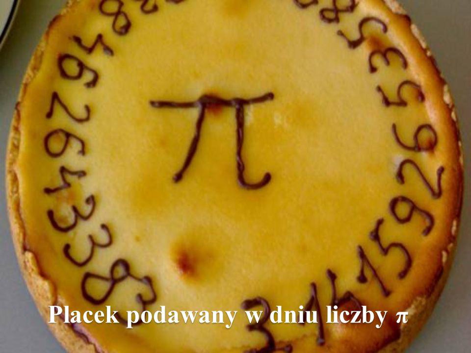 Placek podawany w dniu liczby π