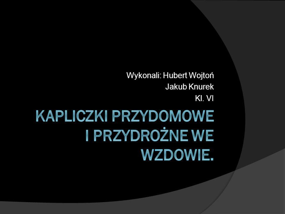 Wykonali: Hubert Wojtoń Jakub Knurek Kl. VI