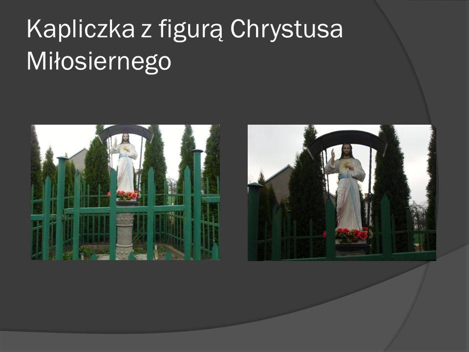 Kapliczka z figurą Chrystusa Miłosiernego