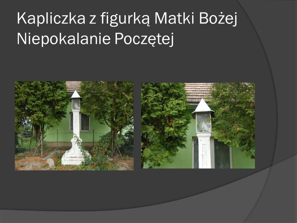 Krzyż Ciekawy obiekt to krzyż wkopany w parku roku 1848.