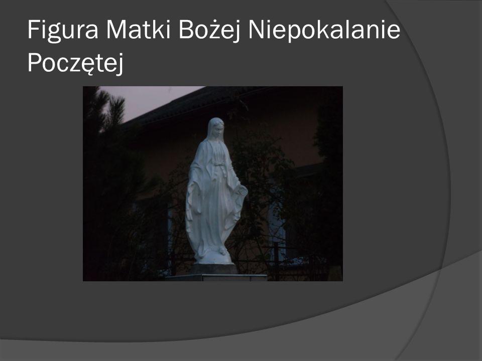 Kapliczka z figurą Matki Bożej z Dzieciątkiem
