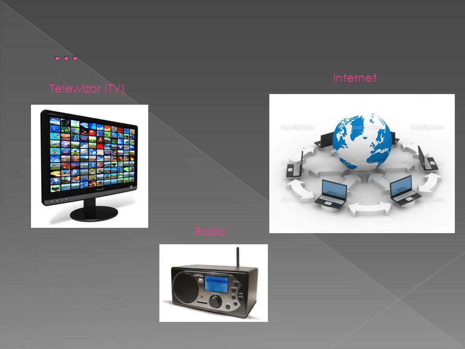 Telewizor (TV) Radio Internet