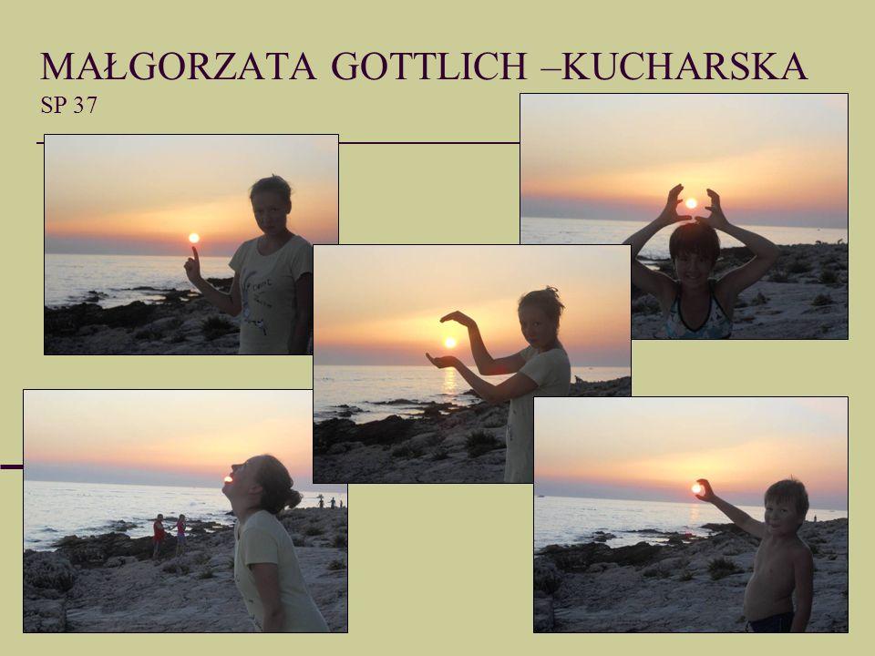 MAŁGORZATA GOTTLICH –KUCHARSKA SP 37