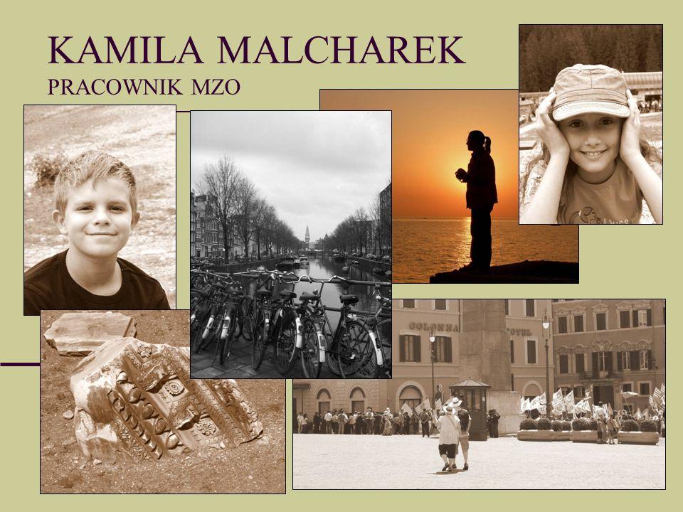 KAMILA MALCHAREK PRACOWNIK MZO