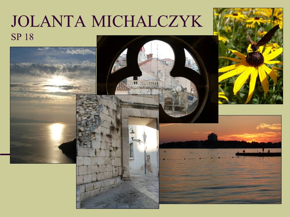JOLANTA MICHALCZYK SP 18