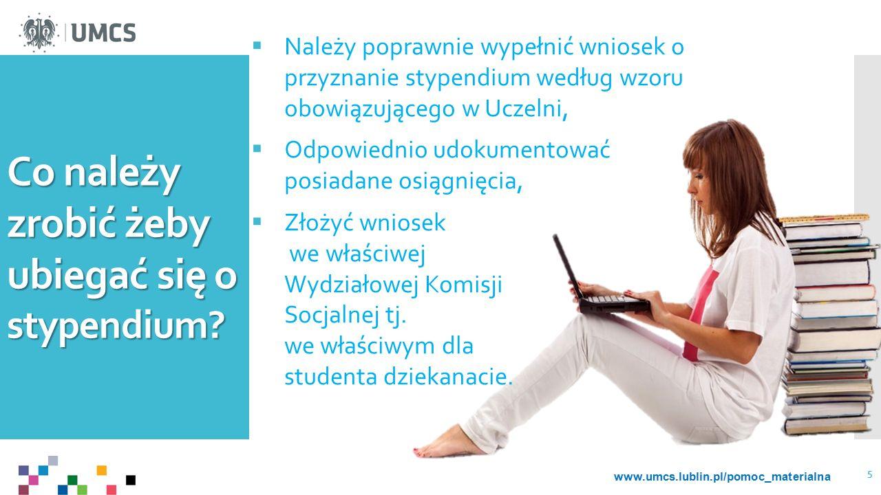 Co należy zrobić żeby ubiegać się o stypendium.