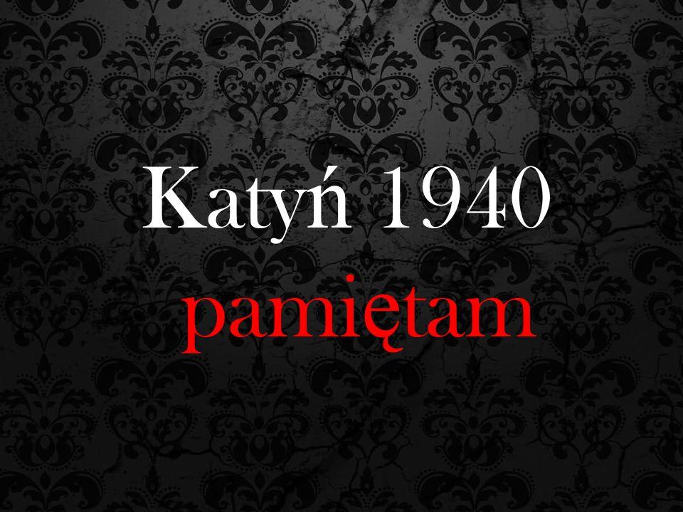 Katy ń 1940 pami ę tam