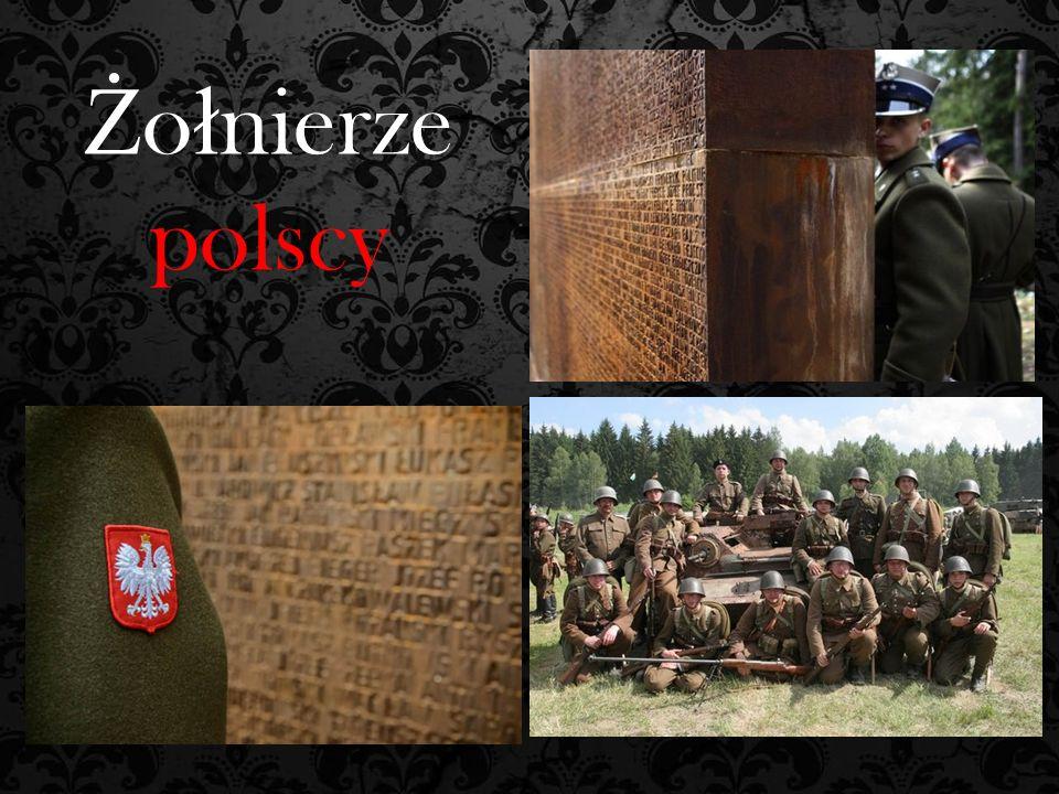 Ż o ł nierze polscy