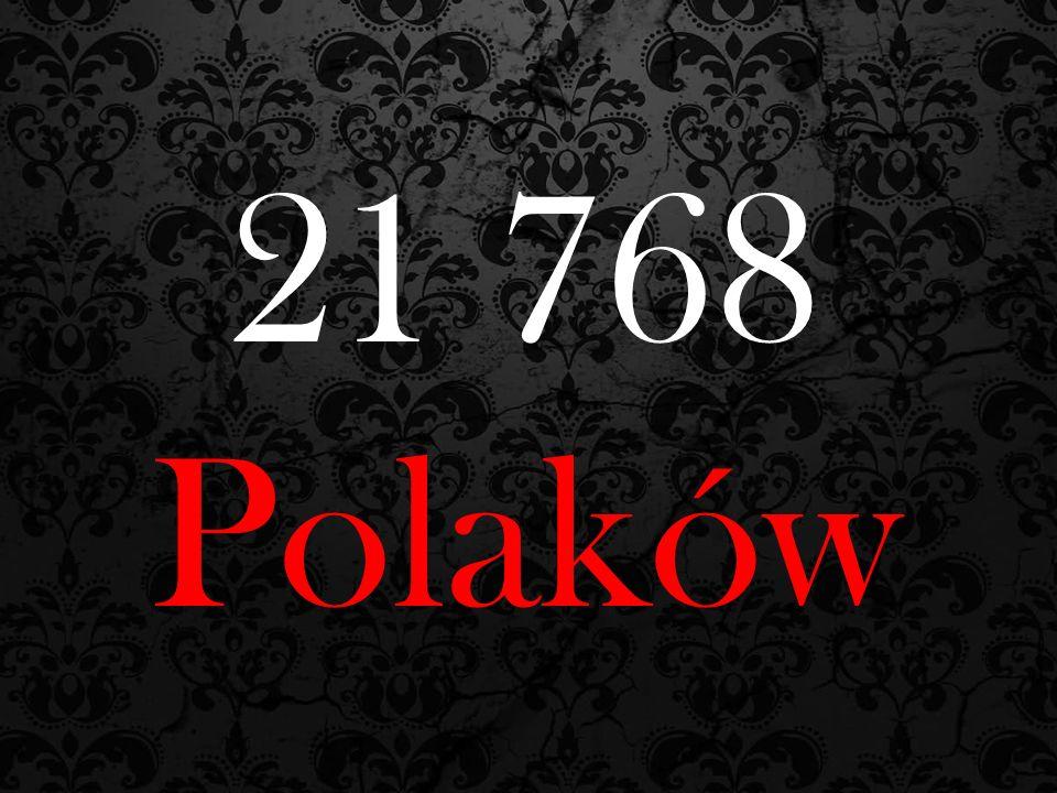 21 768 Polaków