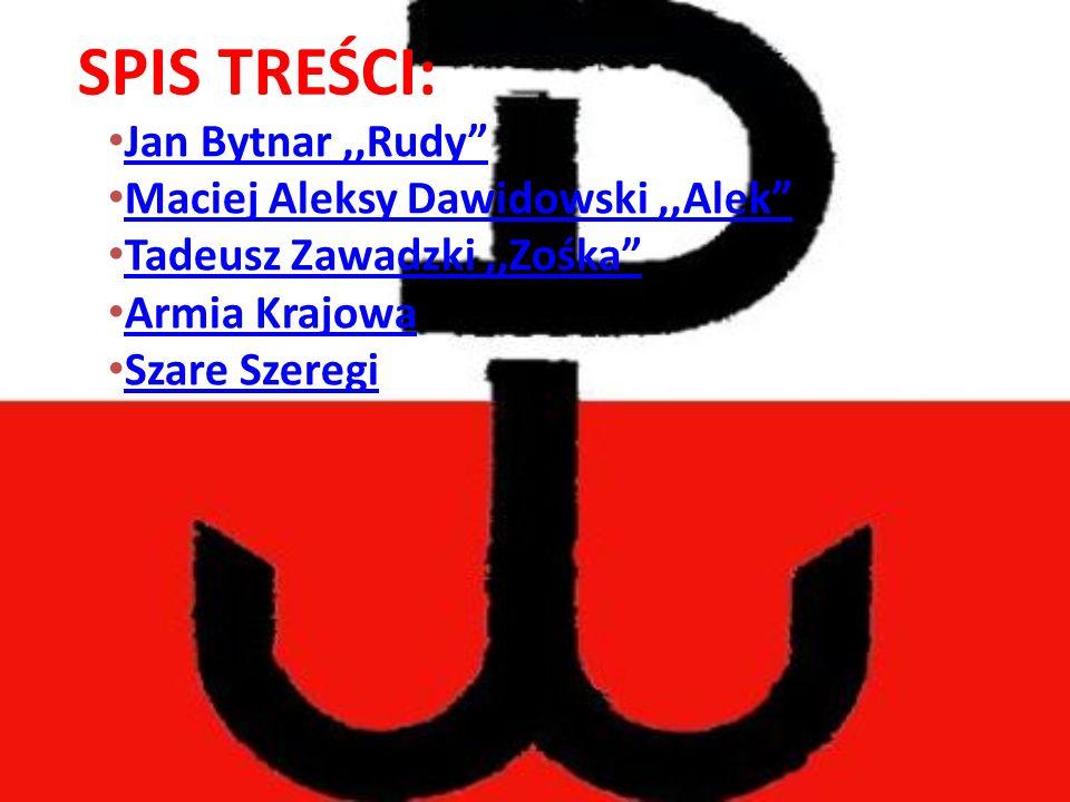 "Jan Bytnar,,Rudy"" Jan Bytnar,,Rudy"" Maciej Aleksy Dawidowski,,Alek"" Maciej Aleksy Dawidowski,,Alek"" Tadeusz Zawadzki,,Zośka"" Tadeusz Zawadzki,,Zośka"""