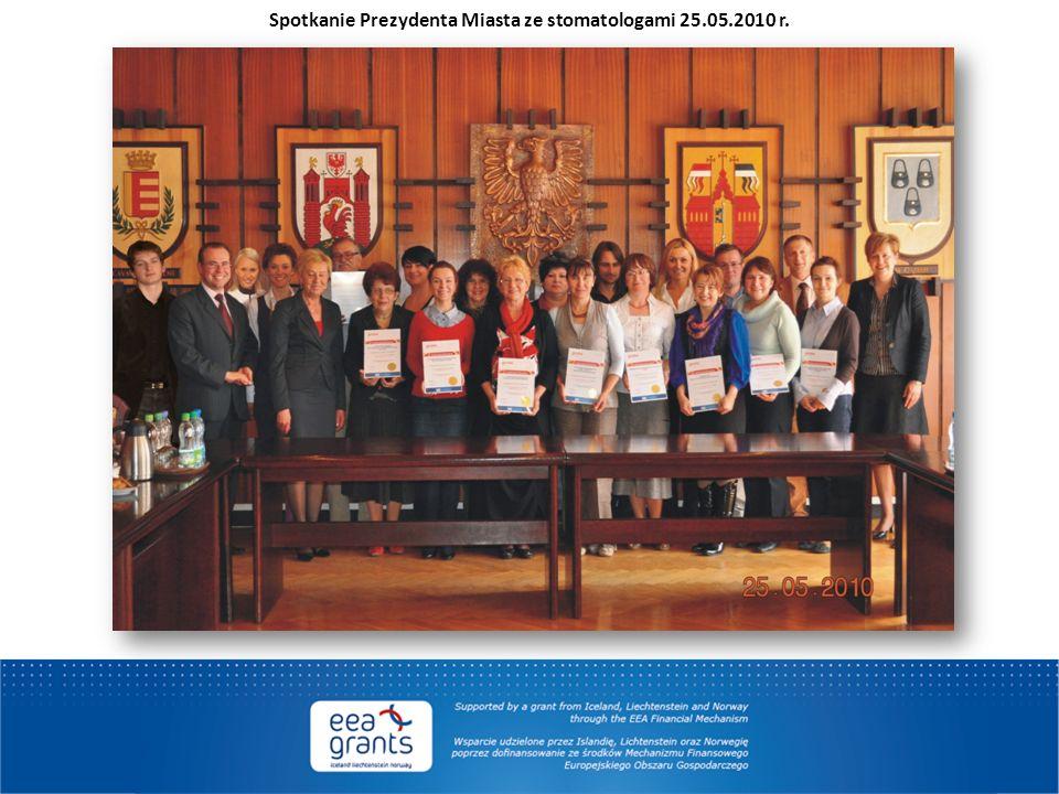 Spotkanie Prezydenta Miasta ze stomatologami 25.05.2010 r.