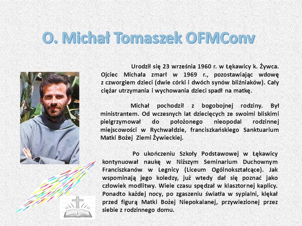 Urodził się 23 września 1960 r.w Łękawicy k. Żywca.