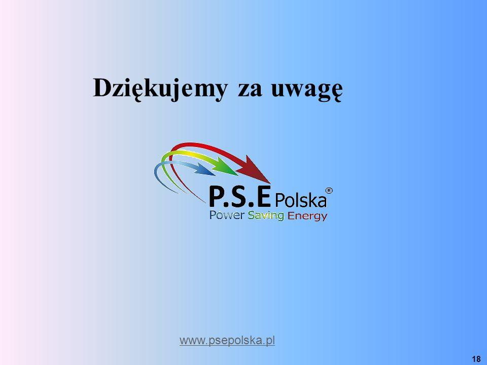 www.psepolska.pl 18 Dziękujemy za uwagę