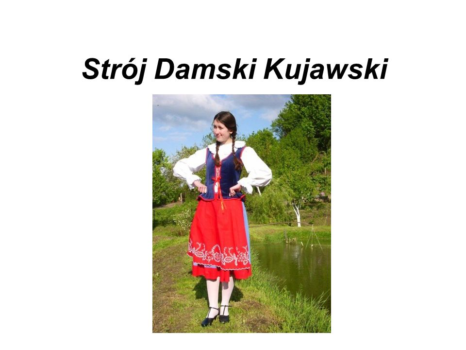 Strój Damski Kujawski