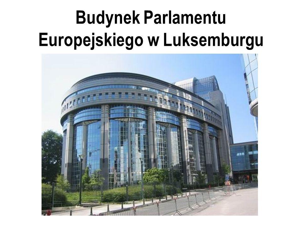 Budynek Parlamentu Europejskiego w Luksemburgu
