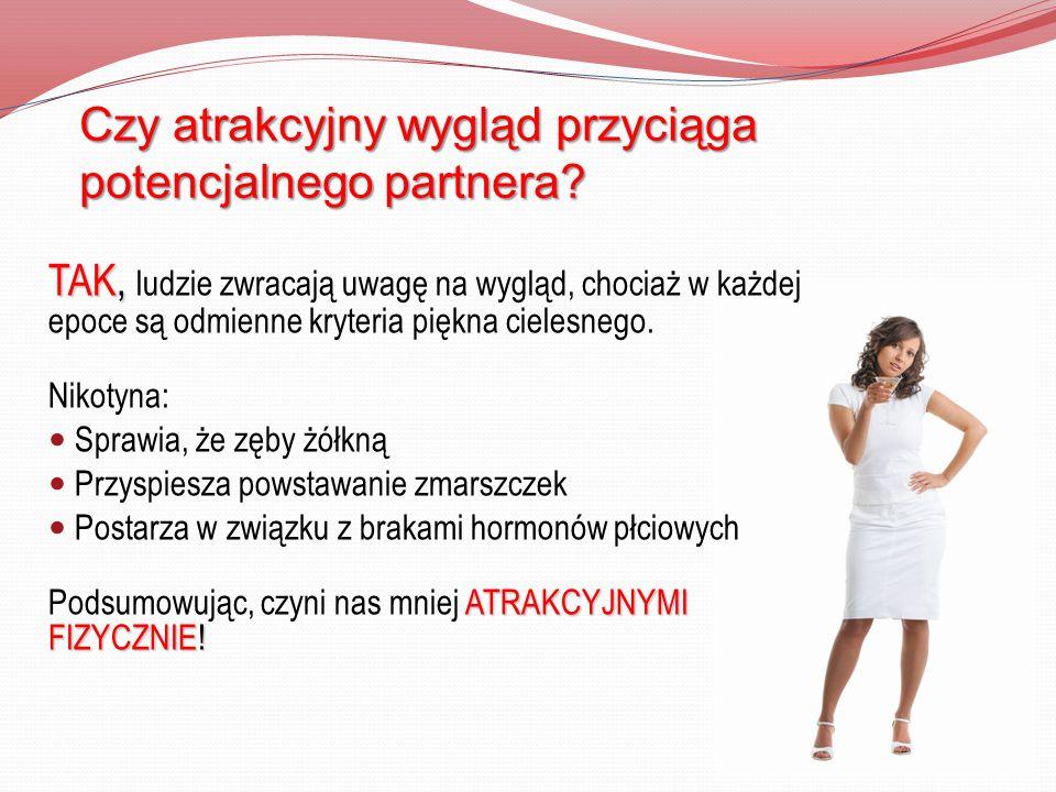 Czy atrakcyjny wygląd przyciąga potencjalnego partnera? TAK, TAK, ludzie zwracają uwagę na wygląd, chociaż w każdej epoce są odmienne kryteria piękna