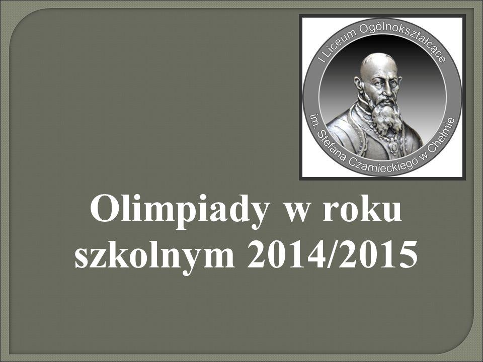 XXVII Olimpiada Filozoficzna Laureat – 5 miejsce Grzegorz Zagraba 3f Opiekun: Robert Wojciechowski