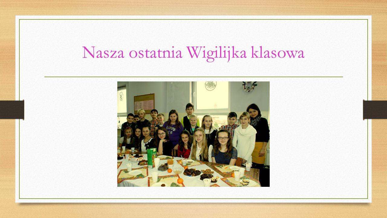 Nasza klasa w roku szkolnym… 2013/20142009/2010