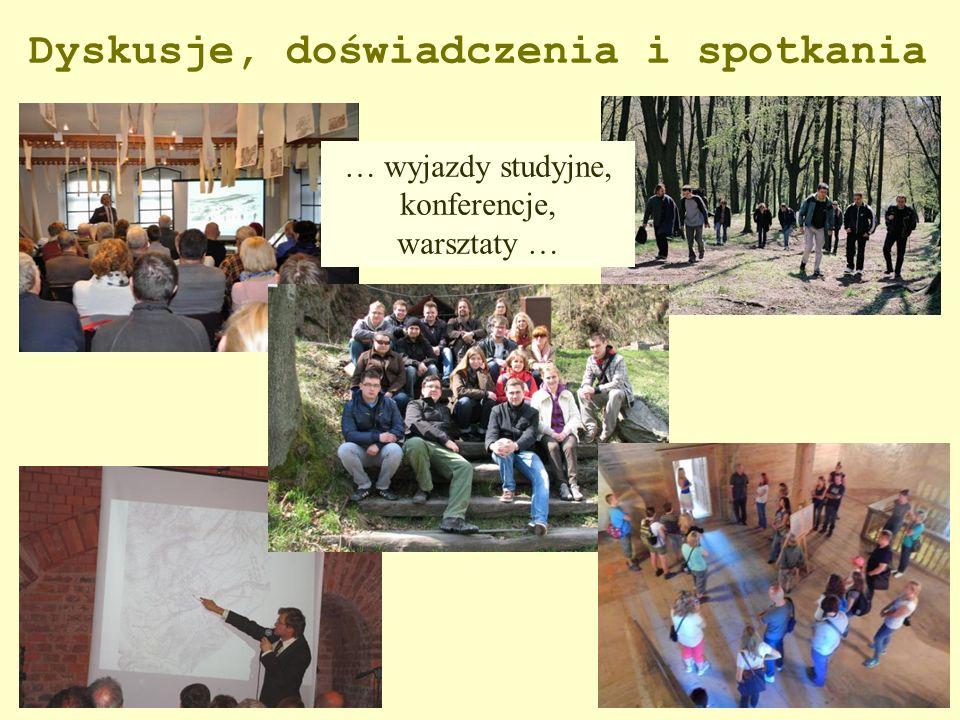 Dyskusje, doświadczenia i spotkania … wyjazdy studyjne, konferencje, warsztaty …