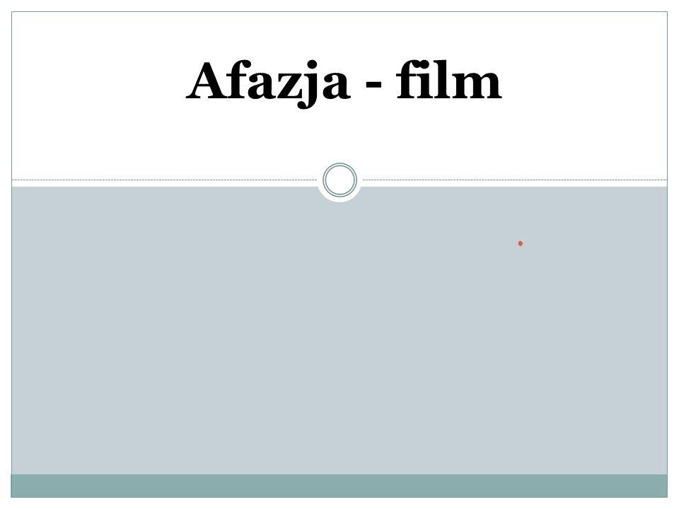 Afazja - film