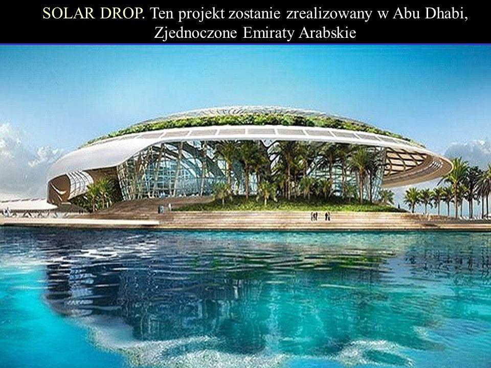 rezydencja bioklimatyczna w Maroku. RED MOON