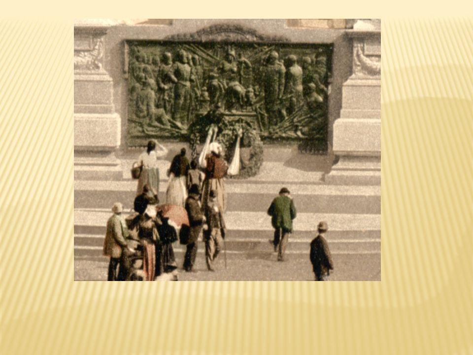 ul. Świdnicka pomnik cesarza Wilhelma