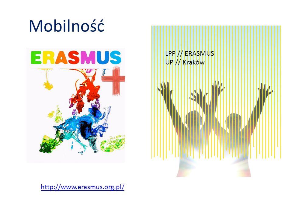 Mobilność LPP // ERASMUS UP // Kraków http://www.erasmus.org.pl/