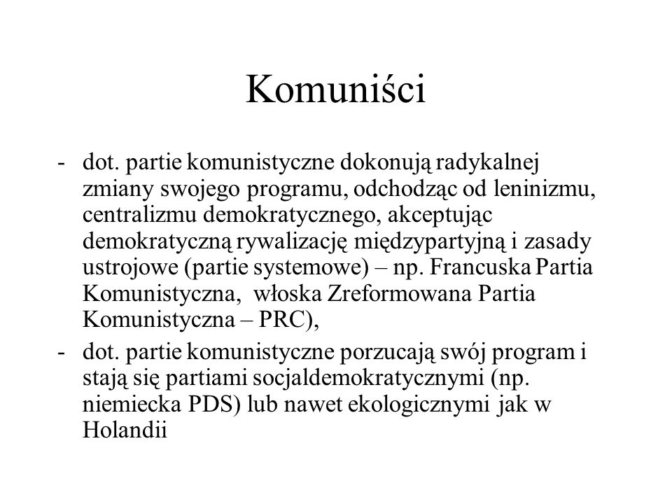 Komuniści -dot.