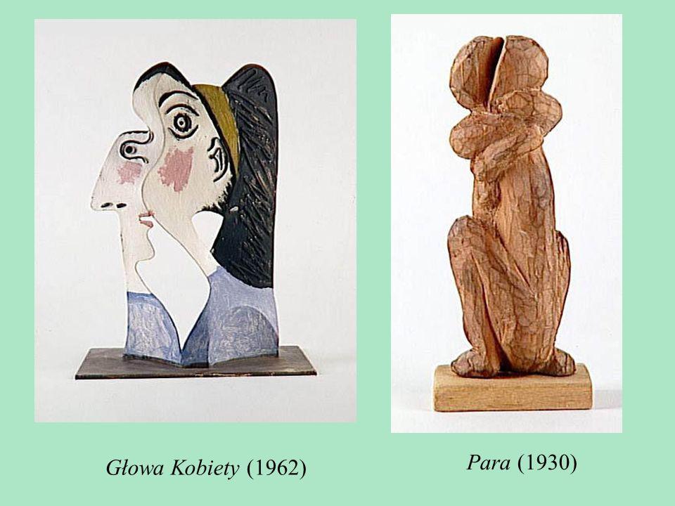 TECHNIKA Jeśli chodzi o wybór techniki, Picasso poszedł tradycyjną drogą: wybrał glinę i gips. Później stosował brąz, czasami kute żelazo, a nawet włą