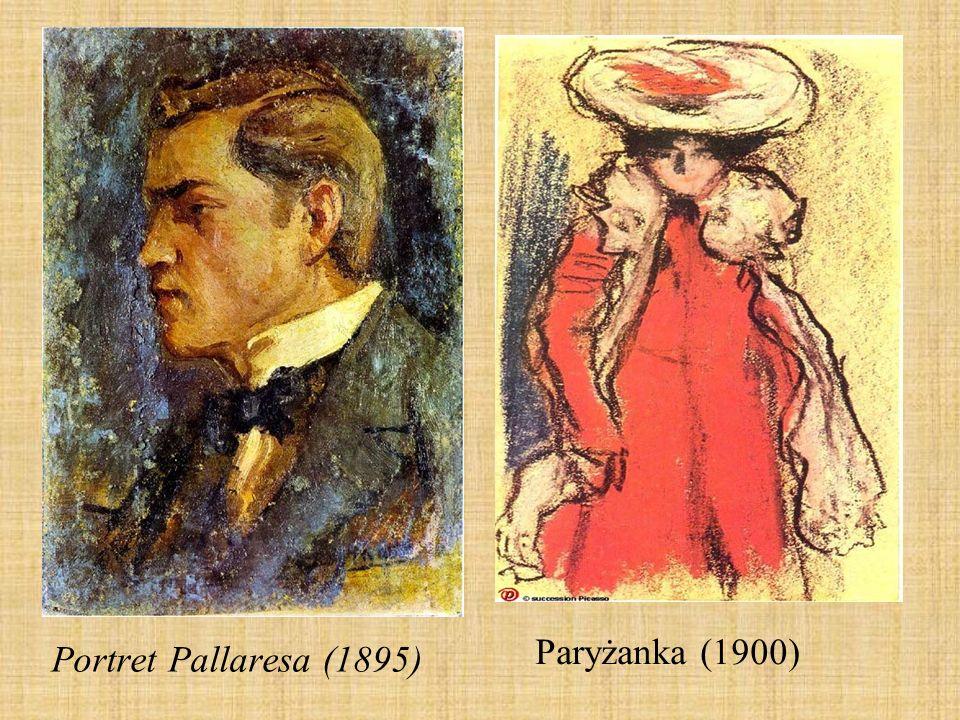 Portret Pallaresa (1895) Paryżanka (1900)