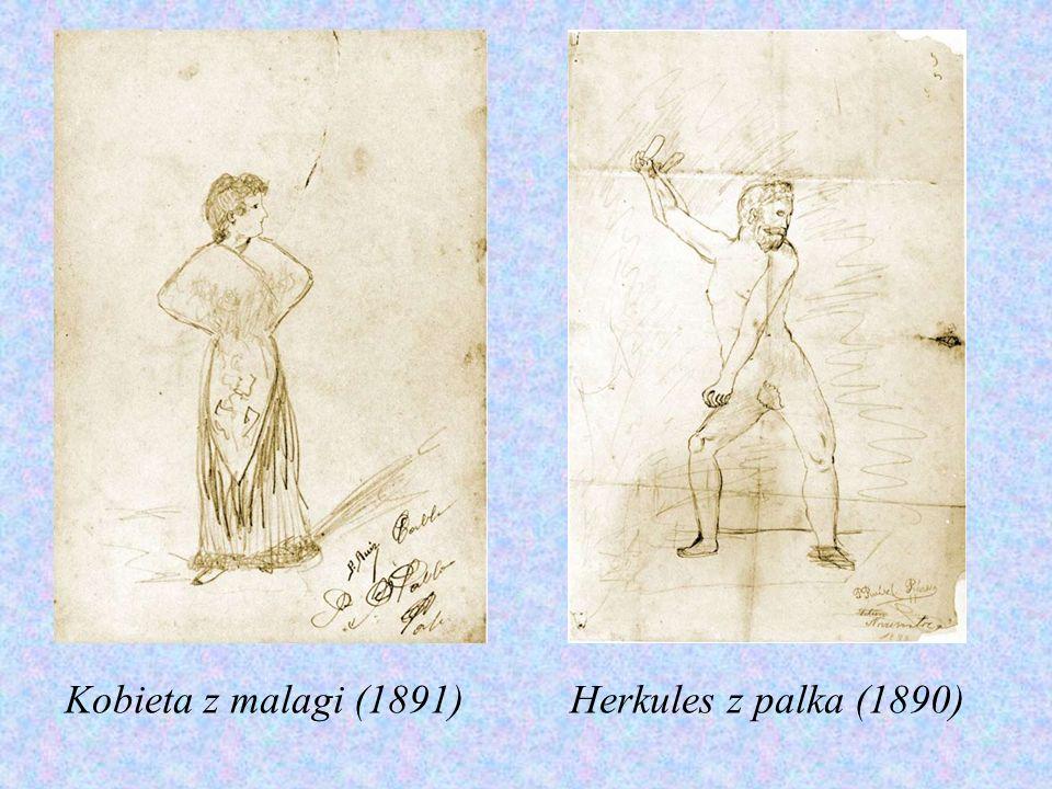 Kobieta z malagi (1891)Herkules z palka (1890)