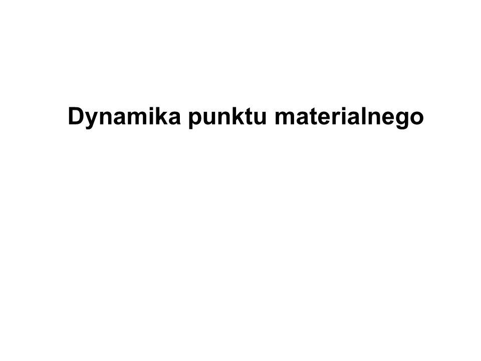 Dynamika punktu materialnego