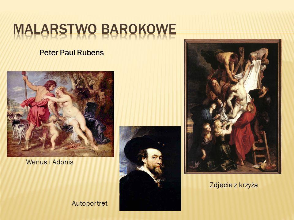 Peter Paul Rubens Zdjęcie z krzyża Wenus i Adonis Autoportret