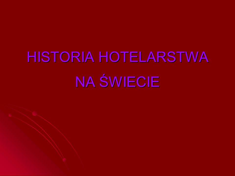 Przyczyny rozwoju starożytnego hotelarstwa Od najdawniejszych czasów hotelarstwo ściśle wiązało się z życiem podróżnych – potrzeba tworzenia nowych zakładów noclegowych rosła w miarę zwiększania się ruchliwości ludzi.