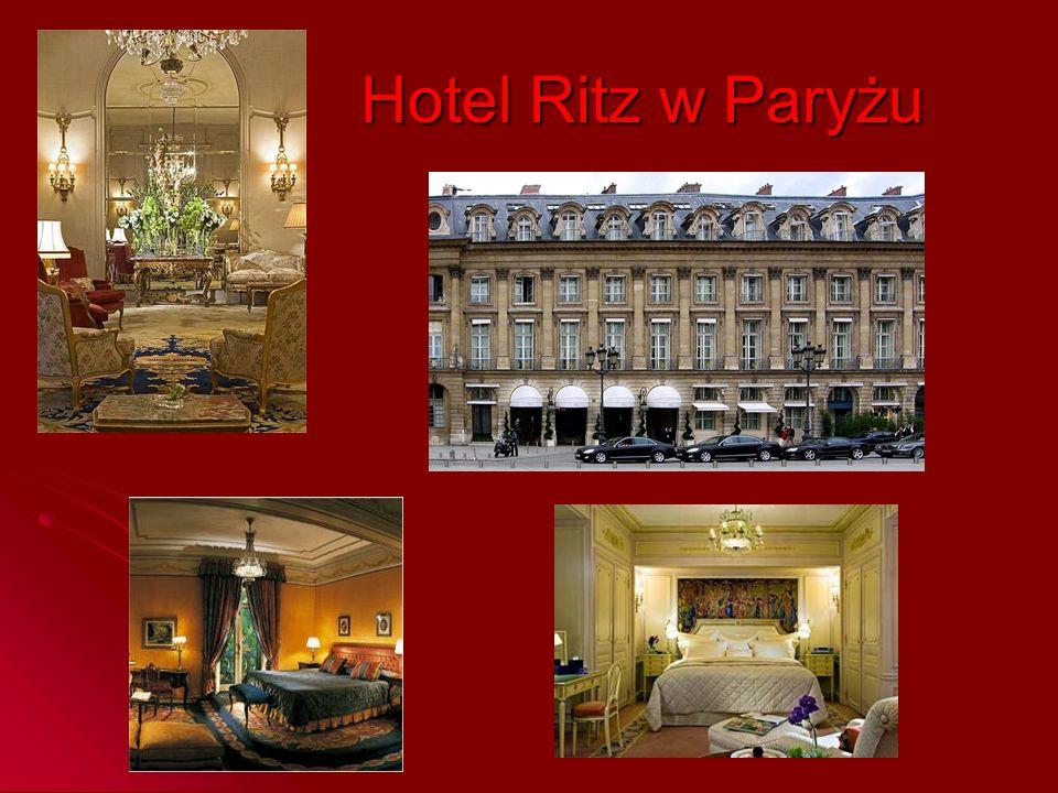 Hotel Ritz w Paryżu
