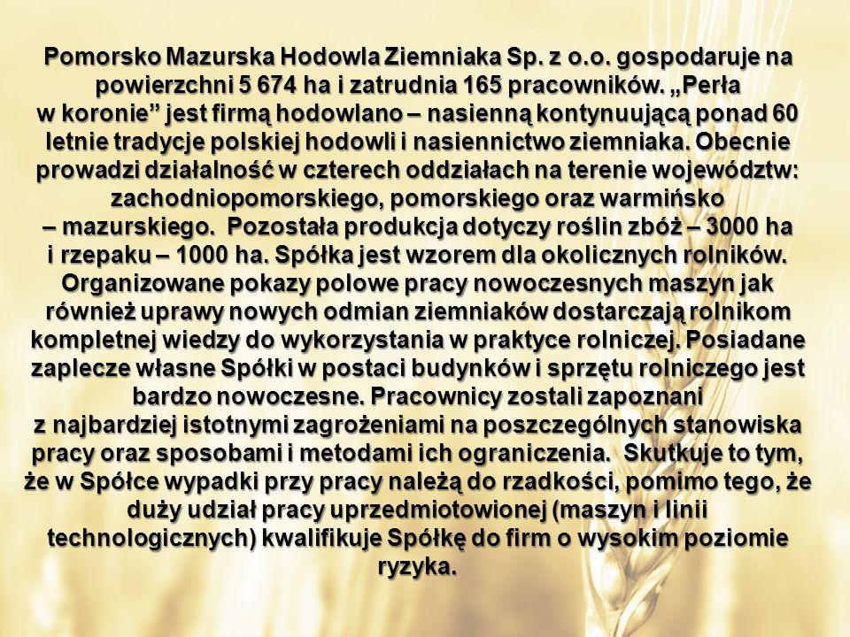 Pomorsko Mazurska Hodowla Ziemniaka Sp. z o.o.