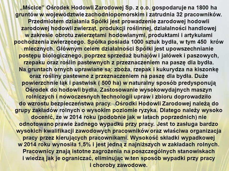 """""""Mścice Ośrodek Hodowli Zarodowej Sp. z o.o."""
