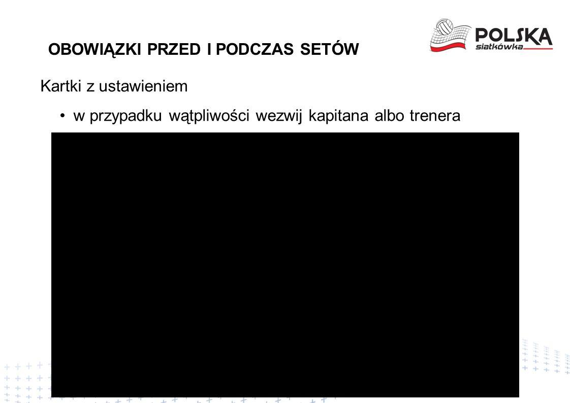 OBOWIĄZKI SĘDZIEGO II - WYBÓR Opracowanie Wojciech Maroszek z wykorzystaniem FIVB Multimedia Teaching Material 2015