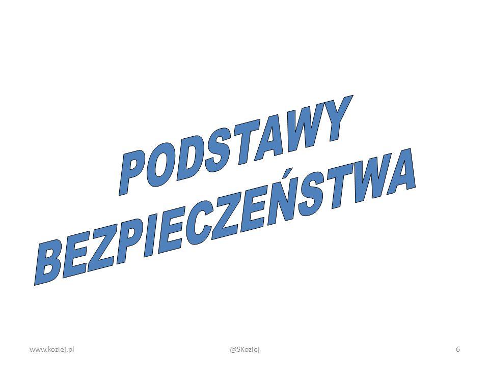 Podsumowanie www.koziej.pl @SKoziej www.koziej.pl 37@SKoziej